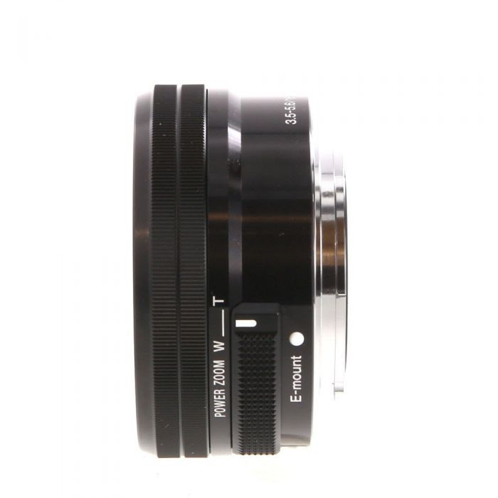 Sony 16-50mm f/3.5-5.6 PZ OSS AF E-Mount Lens, Black {40.5} SELP1650