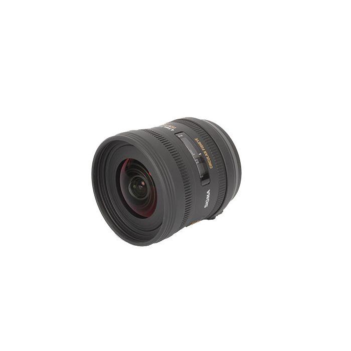 Sigma 4.5mm F/2.8 EX DC HSM Fisheye Lens For Sony Alpha Mount