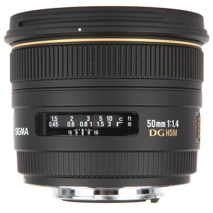 Sigma 50mm f/1.4 EX DG HSM Lens Dedicated Only for Sigma SA {77}