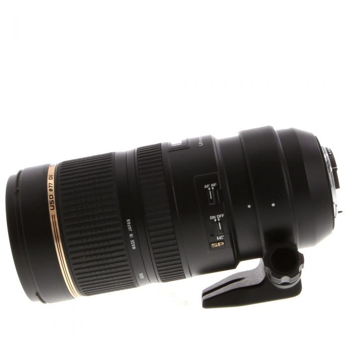 Tamron SP 70-200mm f/2.8 DI VC USD Autofocus Lens for Nikon {77} (A009) with Tripod Mount
