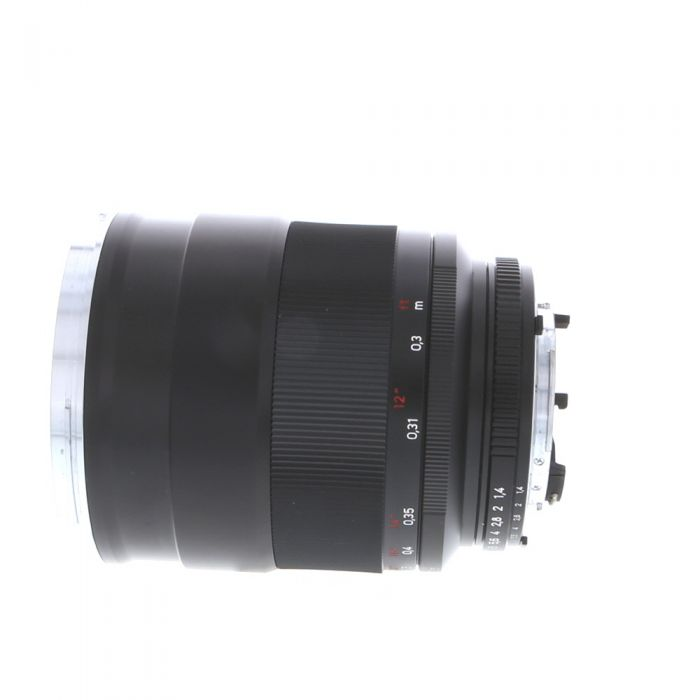 Zeiss 35mm f/1.4 Distagon ZF.2 T* (With CPU Contacts) Manual Focus Lens for Nikon F-Mount, Black {72}