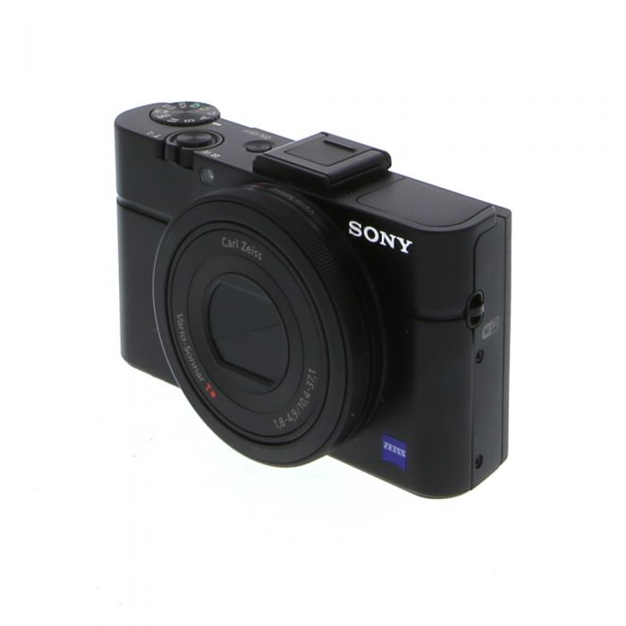 Sony Cyber-Shot DSC-RX100 II Digital Camera, Black {20.2MP}