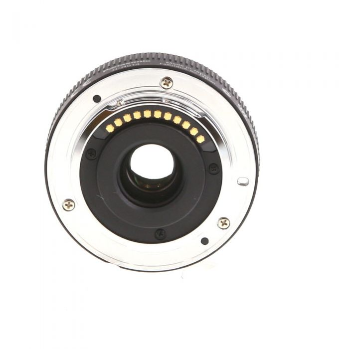 Panasonic Lumix G 14mm f/2.5 ASPH Autofocus Lens for Micro Four Thirds MFT, Silver/Black {46} H-H014