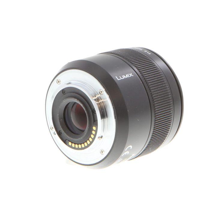 Panasonic Lumix Leica 45mm f/2.8 DG Macro Elmarit ASPH. MEGA O.I.S. AF Lens for Micro Four Thirds MFT, Black {46}