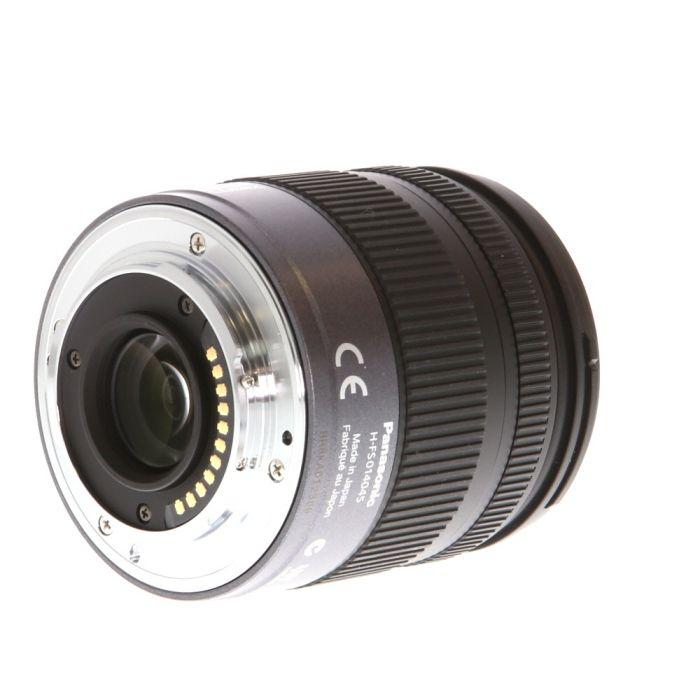 Panasonic Lumix 14-45mm f/3.5-5.6 G Vario Asph. Mega O.I.S. AF Lens for Micro Four Thirds System, Silver/Black {52}