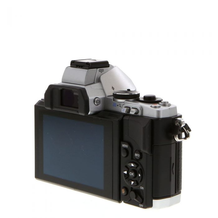 Olympus OM-D E-M5 Mirrorless Micro Four Thirds Digital Camera Body, Silver {16.1MP}