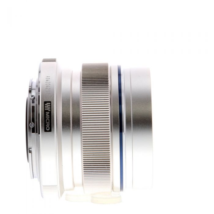 Olympus 12mm F/2 M.Zuiko ED MSC Silver Autofocus Lens For Micro Four Thirds System {46}