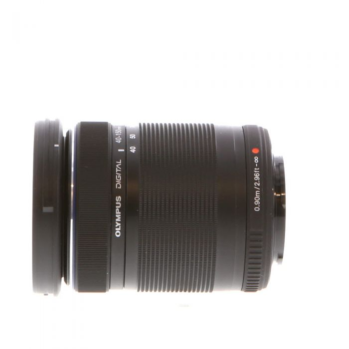 Olympus 40-150mm F/4-5.6 M.Zuiko ED R MSC Black Autofocus Lens For Micro Four Thirds System {58}