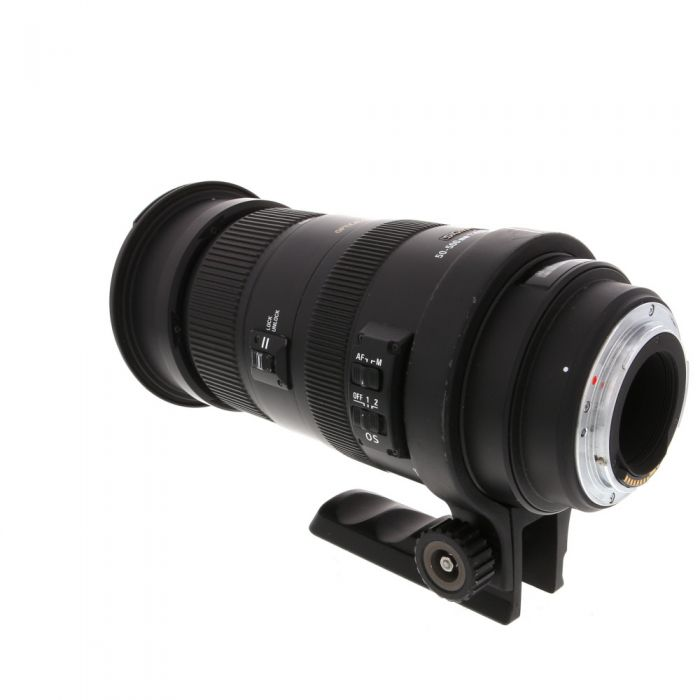 Sigma 50-500mm F/4.5-6.3 APO DG HSM OS Lens For Canon EF Mount {95}