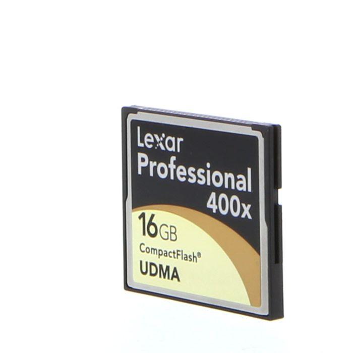 Lexar Pro 16GB 400X UDMA Compact Flash [CF] Memory Card