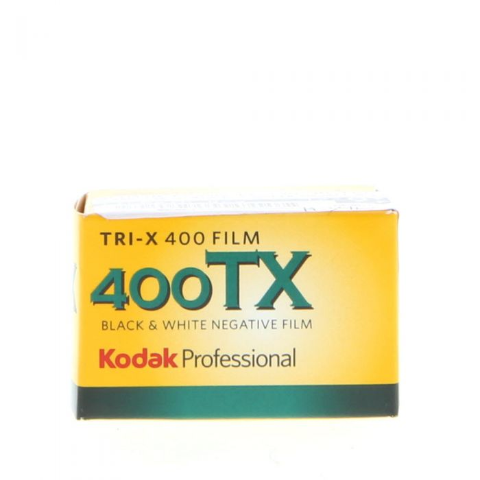 Kodak TX-135-36 Tri-X Pan (ISO 400) 35mm Black & White Negative Film