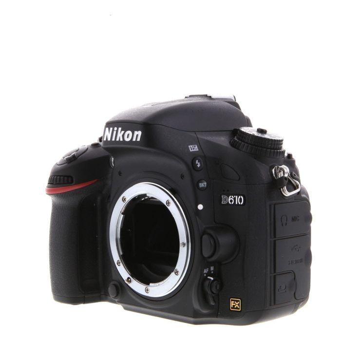 Nikon D610 Digital SLR Camera Body {24.3MP}