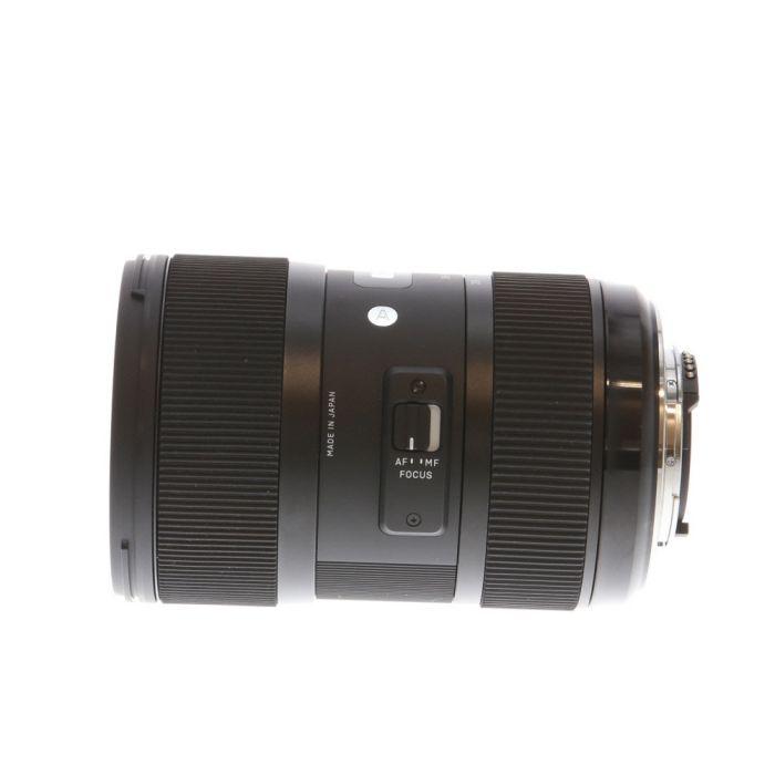 Sigma 18-35mm f/1.8 DC HSM A (Art) AF Lens for Nikon APS-C DSLR {72}
