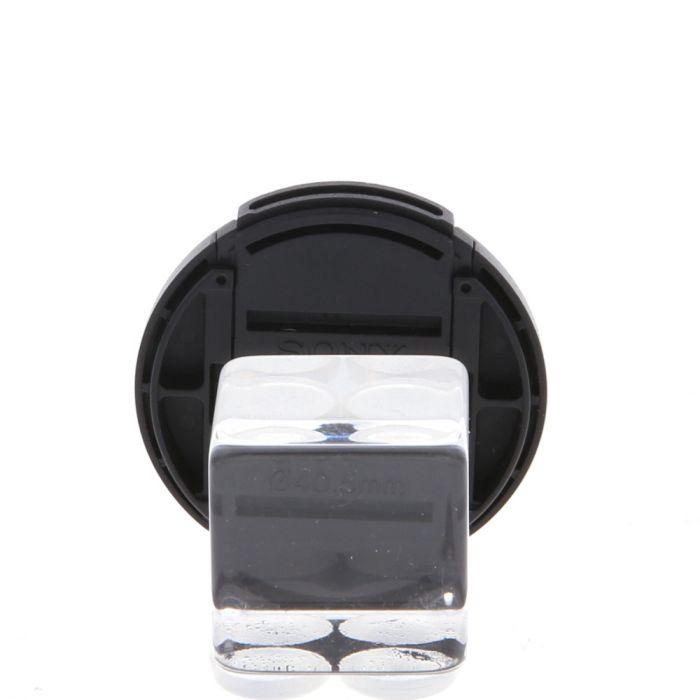 Sony 40.5mm Black Inside Snap Front Lens Cap