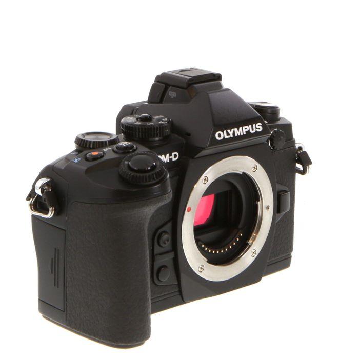 Olympus OM-D E-M1 Mirrorless Micro Four Thirds Digital Camera Body, Black {16.3MP}