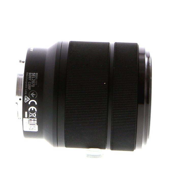 Sony FE 28-70mm f/3.5-5.6 OSS AF E-Mount Lens, Black {55} SEL2870