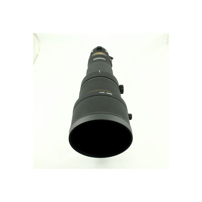 Sigma 500mm F/4.5 APO DG EX HSM Lens For Canon EF Mount {46 Drop In}