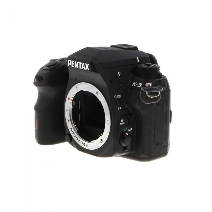 Pentax K-3 Digital SLR Camera Body, Black {24MP}