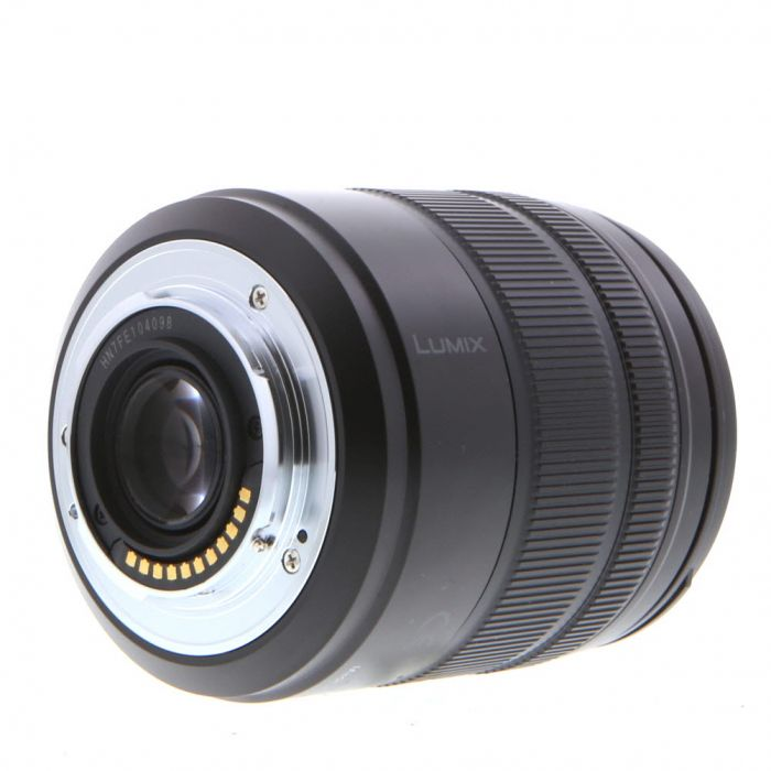 Panasonic Lumix 14-140mm f/3.5-5.6 G Vario Asph. HD Power O.I.S. AF Lens for Micro Four Thirds System, Black {58}