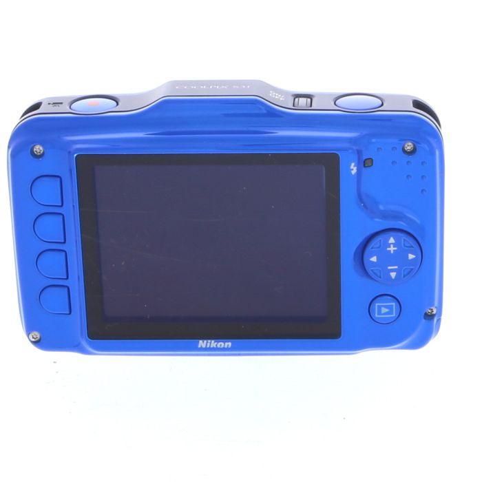 Nikon Coolpix S31 Digital Camera, Blue {10.1MP}