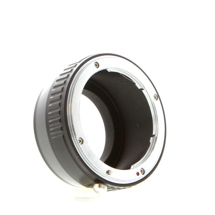 FotodioX Adapter for Nikon F-Mount Lens to Fujifilm X-Mount Camera
