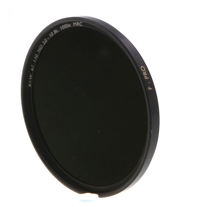 B+W 67mm 110 Neutral Density ND 3.0 10 Stops BL MRC F-Pro 1000X Filter