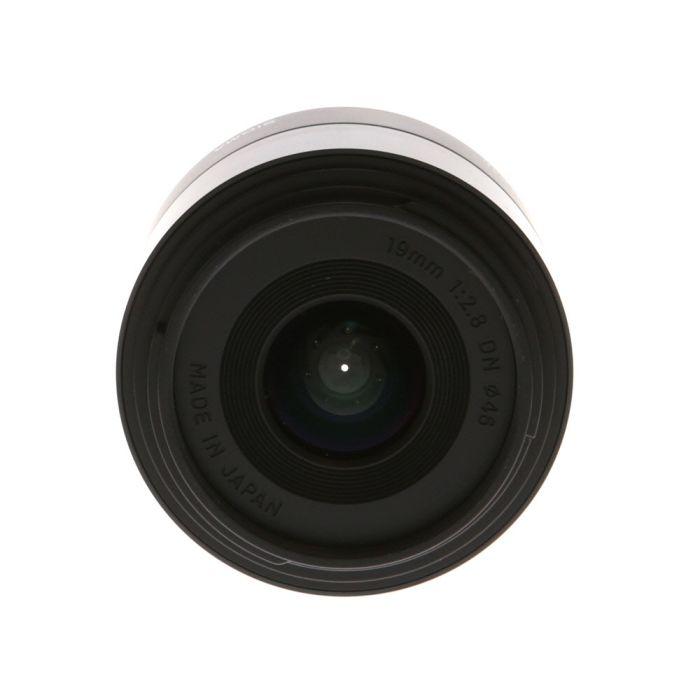 Sigma 19mm f/2.8 DN A (Art) AF Lens for Sony E-Mount, Black {46}