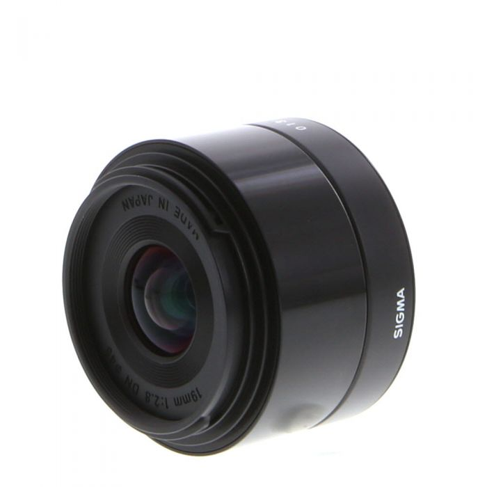 Sigma 19mm F/2.8 DN A (Art) AF Lens For Micro Four Thirds System, Black {46}