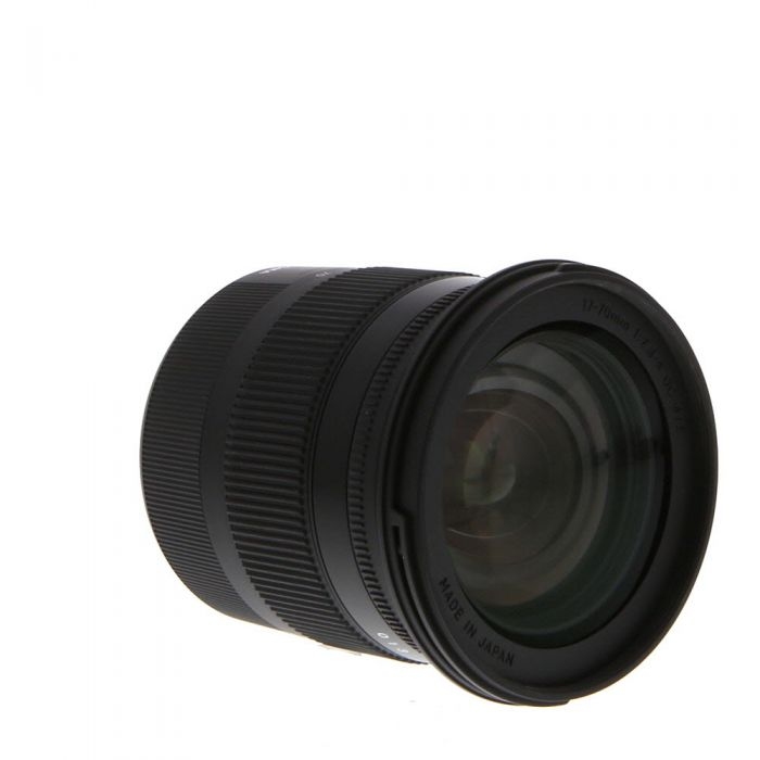 Sigma 17-70mm f/2.8-4 DC Macro OS HSM C (Contemporary) EF-Mount Lens for Canon APS-C DSLR {72}