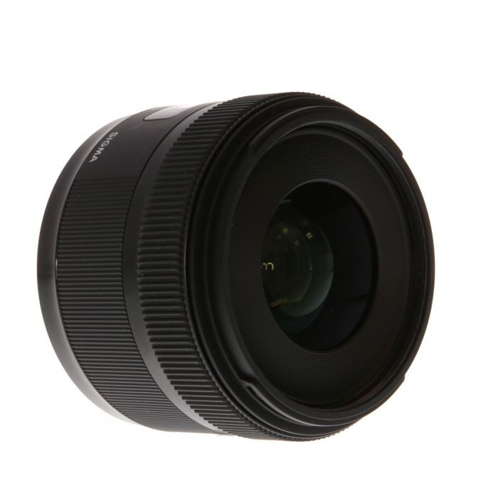 Sigma 30mm f/1.4 DC HSM A (Art) Autofocus Lens for Nikon APS-C Sensor DSLR {62}