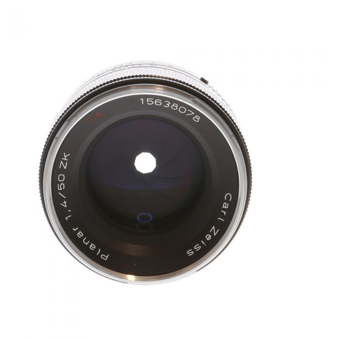 Zeiss 50mm F/1.4 Planar T* ZK A Manual Focus Lens For Pentax K Mount {58}