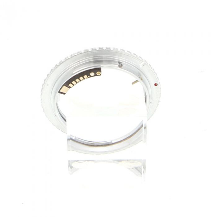 Adapter with Focus Confirmation Chip for OM Mount to Canon EOS EF Mount (Miscellaneous Brand)