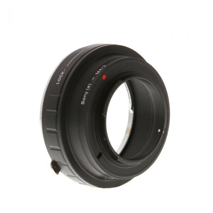 Miscellaneous Brand Adapter Sony A Mount Lens To Micro Four Thirds Body