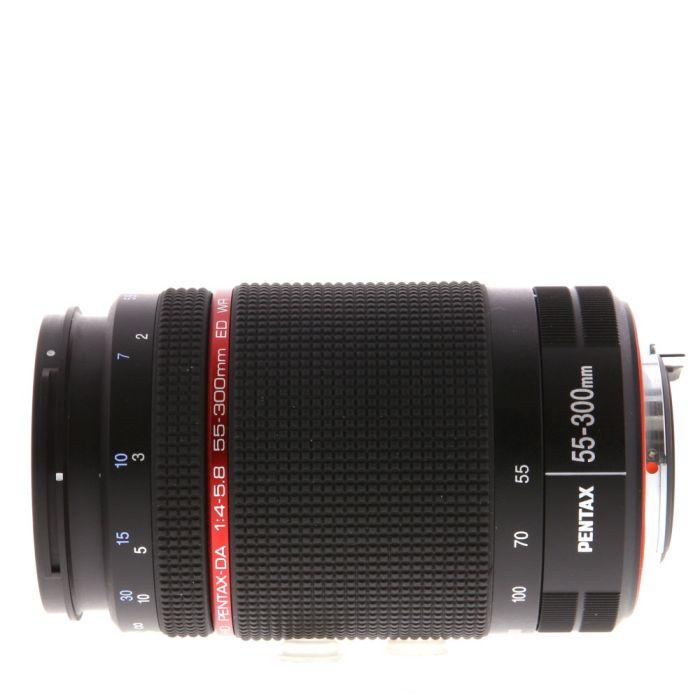 Pentax 55-300mm F/4-5.8 HD DA ED WR K Mount Autofocus Lens For APS-C Sensor DSLRS {58}