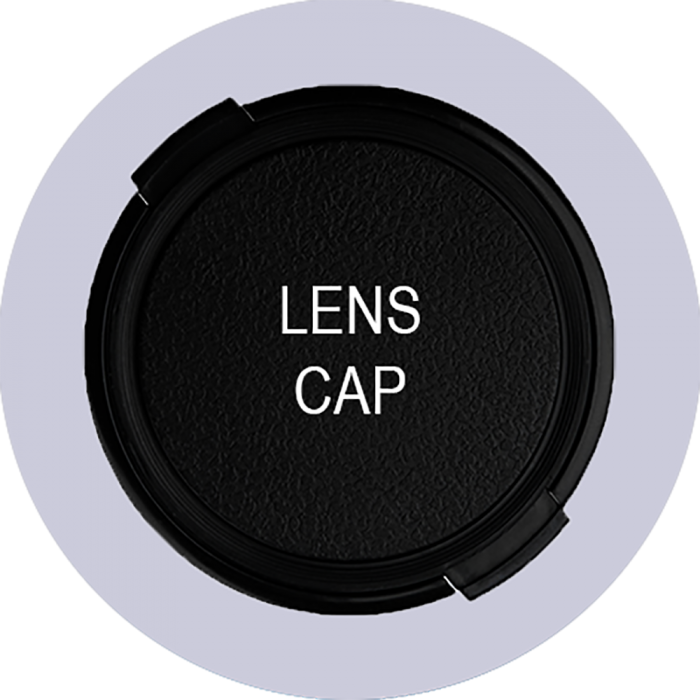Samsung 43mm Snap-On Inside Squeeze Front Lens Cap