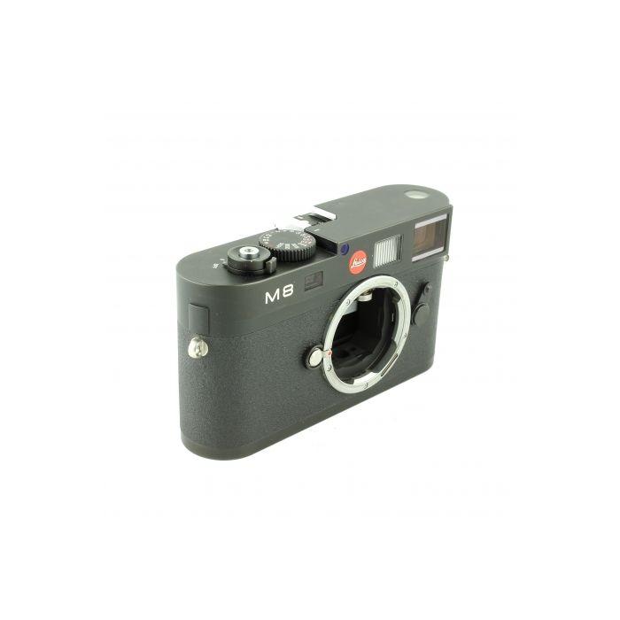 Leica M8 (1/4000 Shutter) Digital Camera Body, Black {10.3MP}