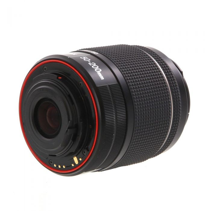 Pentax 50-200mm F/4-5.6 SMC DAL ED WR Black K Mount Autofocus Lens For APS-C Sensor DSLRS {49}