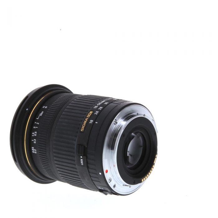 Sigma 18-50mm f/2.8 EX DC Macro EF-Mount Lens for Canon APS-C DSLR {72}