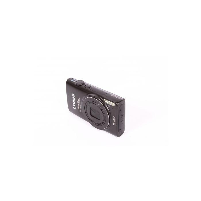 Canon Powershot ELPH 330HS Digital Camera, Black {12.1 M/P}