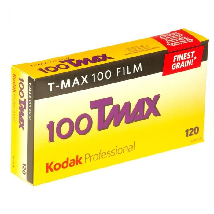 Kodak TMX-120 T-Max 100 (ISO 100) Propack (5 Rolls) Black & White Negative Film, Medium Format