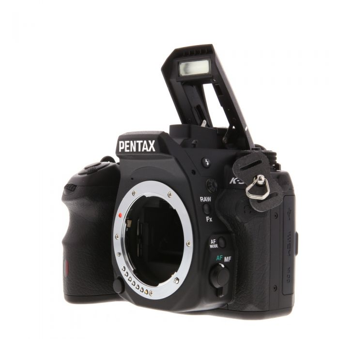Pentax K-3 Black, Digital Camera With 18-135mm F/3.5-5.6 DA ED AL IF DC WR Black Lens (62) {24 M/P}