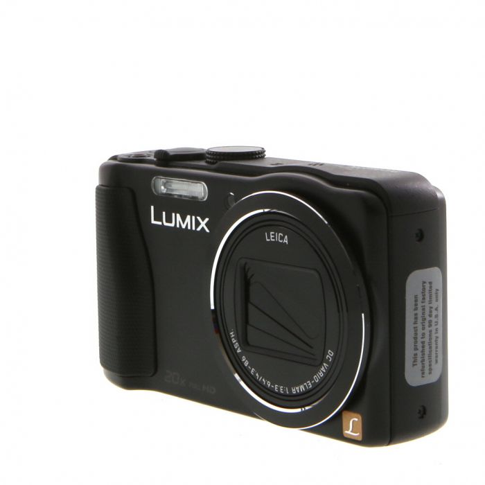 Panasonic Lumix DMC-ZS25 Digital Camera Black {16.1 M/P}