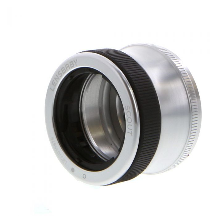 Lensbaby Scout Silver For Canon EOS (EF Lens Mount) Requires Optic