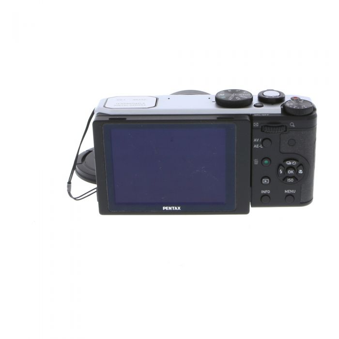Pentax MX-1 Silver Digital Camera {12MP}
