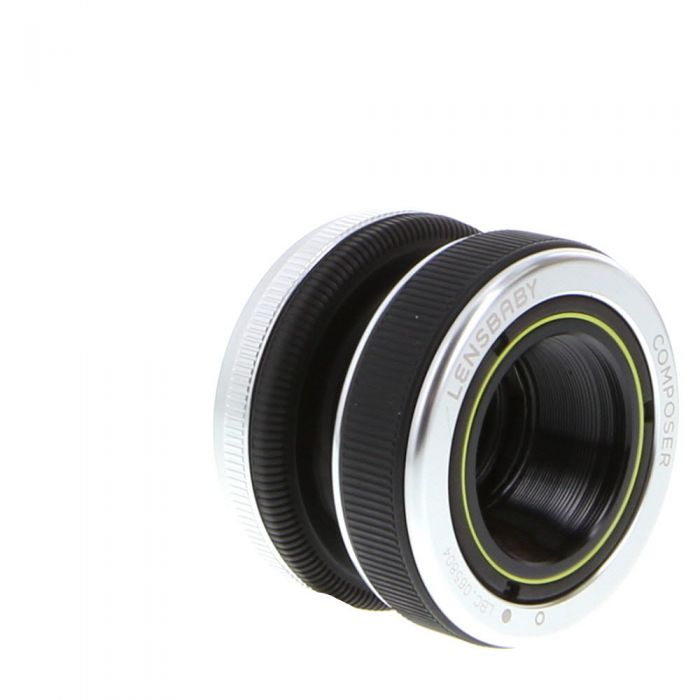 Lensbaby Composer For Canon EOS (EF Lens Mount) With Double Glass Optic