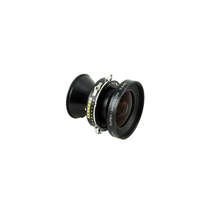 Schneider 65mm f/5.6 Super-Angulon MC Wista Copal Press B (4X5)(35 MT) Lens