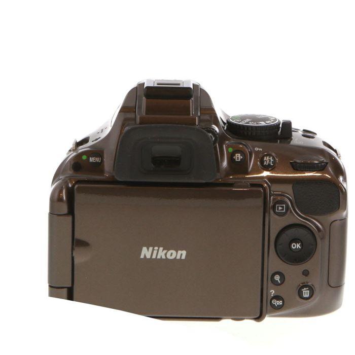 Nikon D5200 Digital SLR Camera Body, Bronze {24.1 M/P}