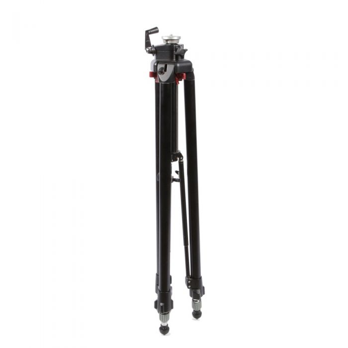 Manfrotto 3251 Tripod Legs with Geared Column, 3-Section, Black 38-85.4\
