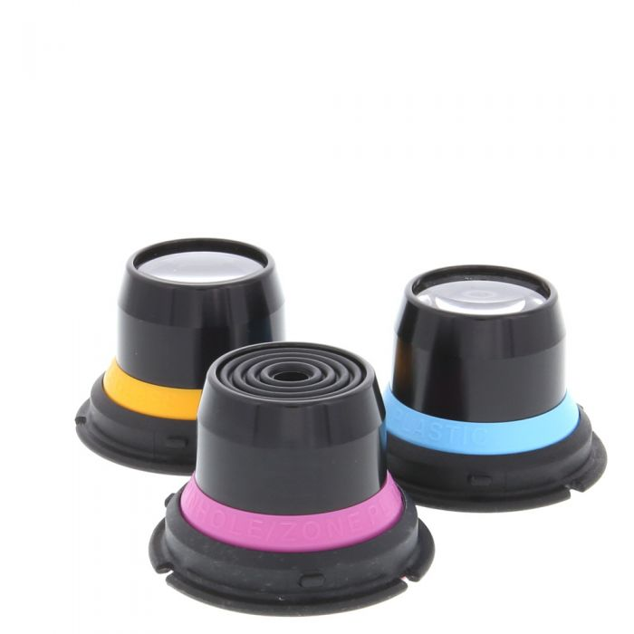 Lensbaby Optic Kit with Plastic, Pinhole/Zone Plate, Single Glass for Composer, Control Freak, Muse