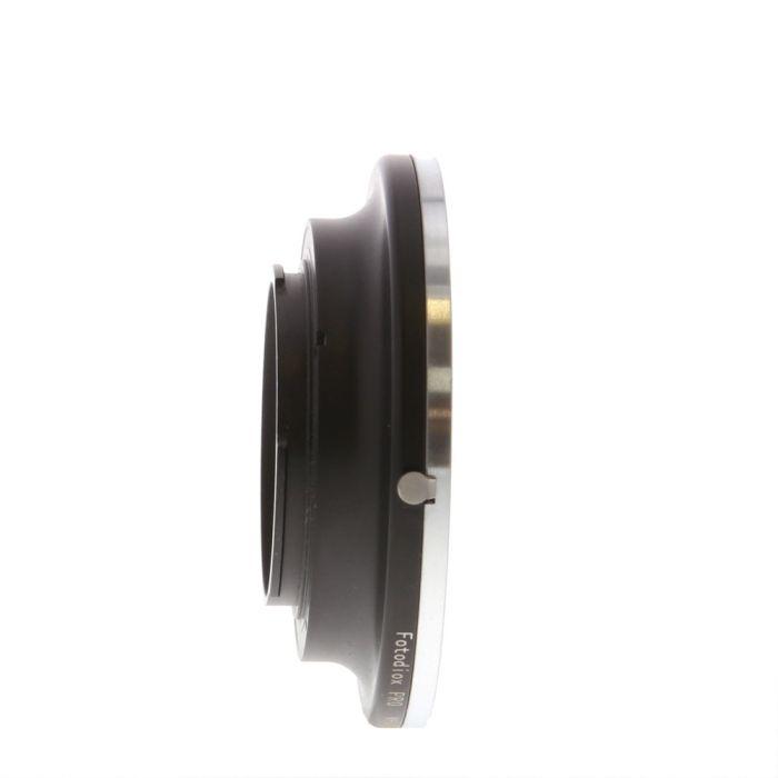 FotodioX Pro M645-Nik Adapter for Mamiya 645 Manual Focus to Nikon F-Mount